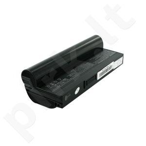 Whitenergy High Capacity baterija Asus EEE PC 901 7.4V  Li-Ion 6600mAh juoda