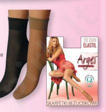 Kojinaitės (2 poros) neveržiančios blauzdų ELASTIL 20 denų storio (ecri)