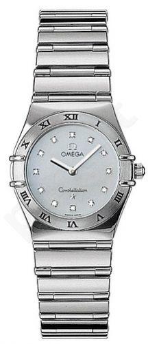 Laikrodis OMEGA   CONSTELLATION White Gold moteriškas