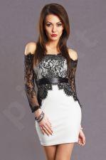 Emamoda suknelė - balta 5702-8