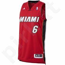 Marškinėliai krepšiniui adidas Swing Miami LeBron James Jer L71712