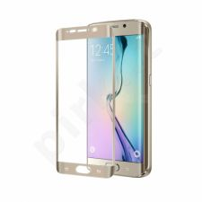 Samsung Galaxy S6 EDGE Plus Pilno lenkimo stikliukas Celly auksinis
