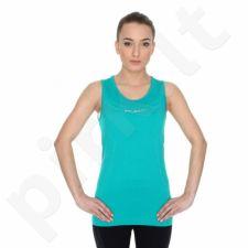 Marškinėliai termoaktyvūs Brubeck Athletic W TA10200 žalio atspalvio