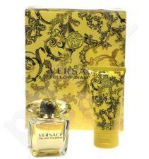 Versace (EDT 30 ml + 50 ml kūno losjonas) Yellow Diamond, rinkinys moterims
