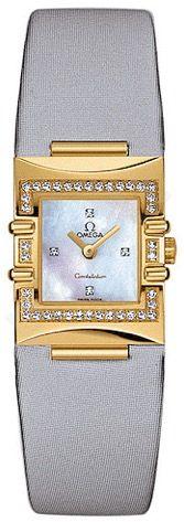 Laikrodis OMEGA   CONSTELLATION Yellow Gold MOP moteriškas
