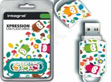 Atmintukas Integral Xpression Owls 16GB
