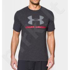 Marškinėliai treniruotėms Under Armour Sportstyle Logo M 1257615-001