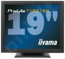 Monitorius iiyama LCD 19'' Prolite T1931SR-B1 Touchscreen, 5ms, DVI, Juodas