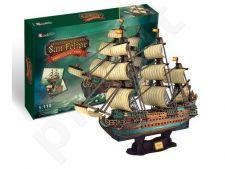 3D dėlionė: Ispanų Armada