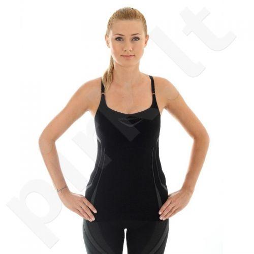 Marškinėliai Brubeck Fitness W CM10070 juoda