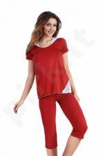 Babella pižama ROMA (vyšnių spalvos)