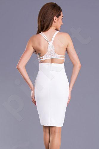 Emamoda suknelė - balta 9008-3