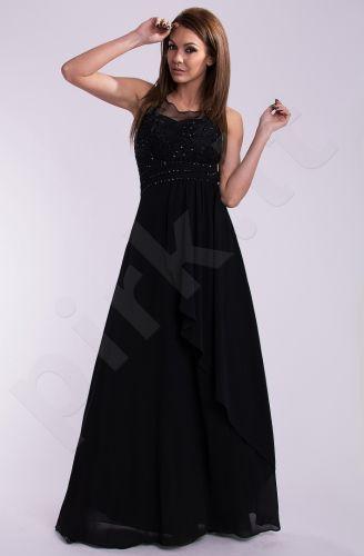 EVA&LOLA suknelė - juoda 10005-4