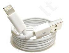 Apple iPhone 5 USB laidas MD818ZM baltas be pakuotės