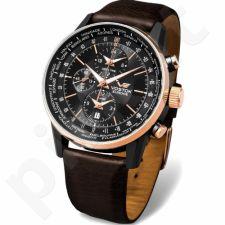 Vyriškas laikrodis Vostok Europe GAZ-14 Limousine World Timer Sound Alarm YM26-5603255