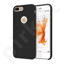 Silicone back cover case, black (iPhone 7/8)