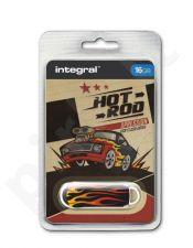 Atmintukas Integral Xpression Hot Rod 16GB