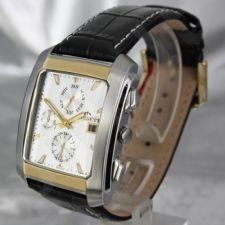Vyriškas laikrodis BISSET BURION BSCD14 MTT WH BK