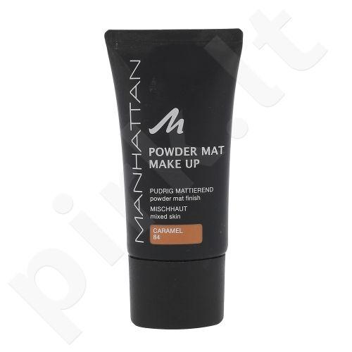 Manhattan matinė kreminė pudra, kosmetika moterims, 30ml, (84 Caramel)