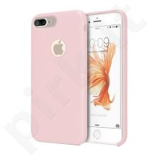 Silicone back cover case, pink (iPhone 7/8)