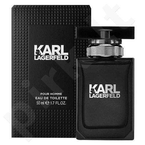 Lagerfeld Karl Lagerfeld for Him, tualetinis vanduo vyrams, 50ml