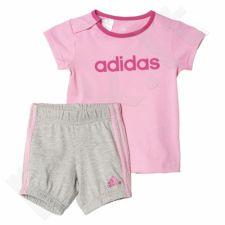Komplektas Adidas Summer Easy Girls Set Kids AK2610