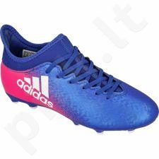 Futbolo bateliai Adidas  X 16.3 FG Jr BB5695