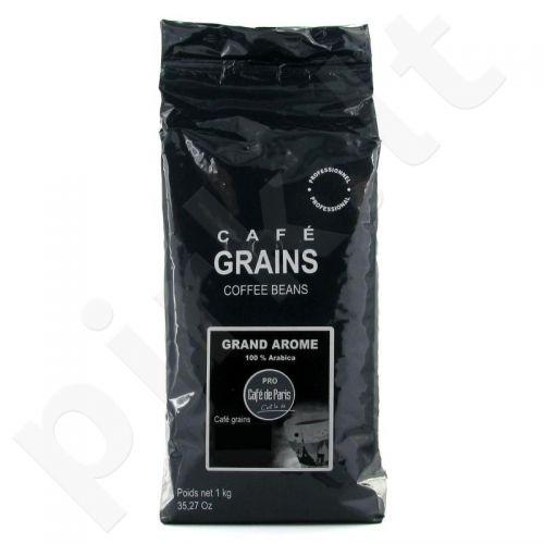 Kava pupelėmis PRO Cafe de Paris Grand Arome 1 kg