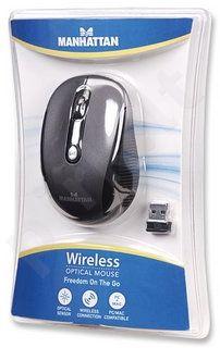 MANHATTAN belaidė optinė pelė, USB, 2000 dpi