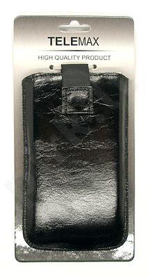 15-L MAGNET universalus dėklas HD2 Visin juodas