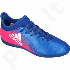 Futbolo bateliai Adidas  X16.3 IN Jr BB5720