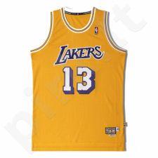 Marškinėliai krepšiniui adidas Swingman Los Angeles Lakers Wilt Chamberlain Jersey L70680