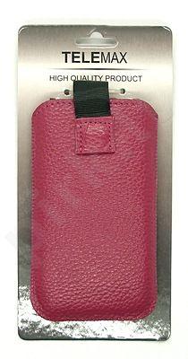 15-L MAGNET universalus dėklas i4 Visin tamsiai rožinis