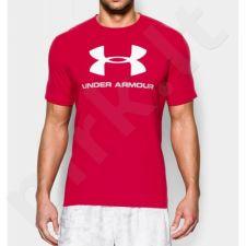Marškinėliai treniruotėms Under Armour Sportstyle Logo M 1257615-600