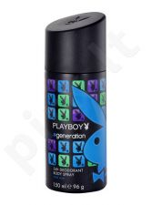 Playboy Generation For Him, dezodorantas vyrams, 150ml