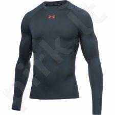 Marškinėliai termoaktyvūs Under Armour HeatGear Compression Longsleeve 1257471-009