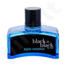 Nuparfums Black is Black Aqua Essence, EDT vyrams, 100ml