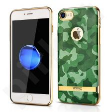 TPU back cover case with camouflage pattern, green (iPhone 7/8)