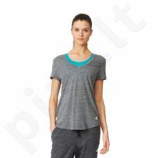 Marškinėliai adidas Logo V-neck Tee W B28331