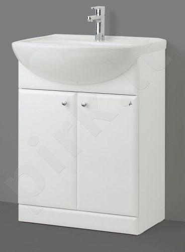 Apatinė vonios spintelė SA 63 su praustuvu Riva 64