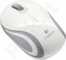 Logitech® Wireless Mini Mouse M187 - WHITE - 2.4GHZ - EMEA