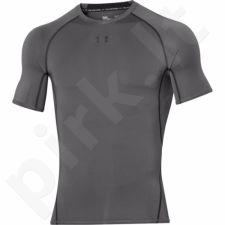 Marškinėliai termoaktyvūs Under Armour HeatGear Compression Shortsleeve 1257468-040