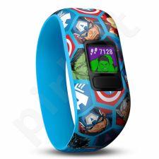 Vaikiškas laikrodis vivofit jr2, WW, Stretchy, Avengers 010-01909-02