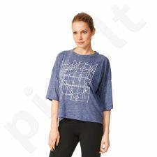 Marškinėliai adidas Oversized Graphic Tee W AY0181