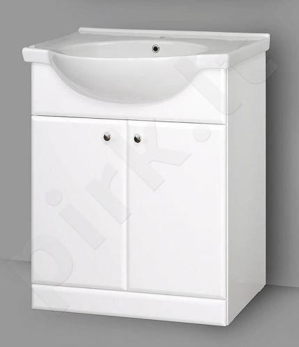 Apatinė vonios spintelė SA 70 su praustuvu Riva 70