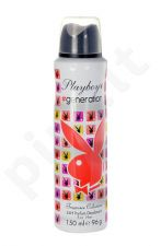 Playboy Generation For Her, dezodorantas moterims, 150ml