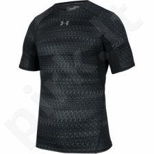 Marškinėliai kompresiniai Under Armour HeatGear® Armour Printed Short Sleeve Compression M 1257477-007