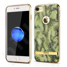 TPU back cover case with camouflage pattern, gold (iPhone 7/8)