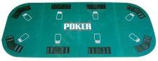 Pokerio stalviršis 8 asmenims, sulankstomas 180x90cm