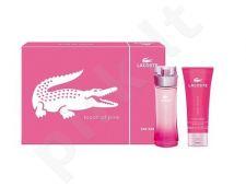 Lacoste (EDT 30 ml + 100 ml kūno losjonas) Touch of Pink, rinkinys moterims